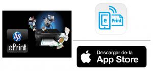 App Store: HP ePrint para impresiones directas desde tudispositivo